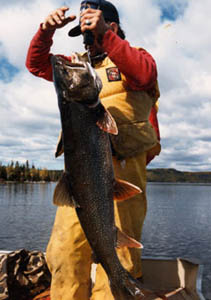 lake trout fishing in canada
